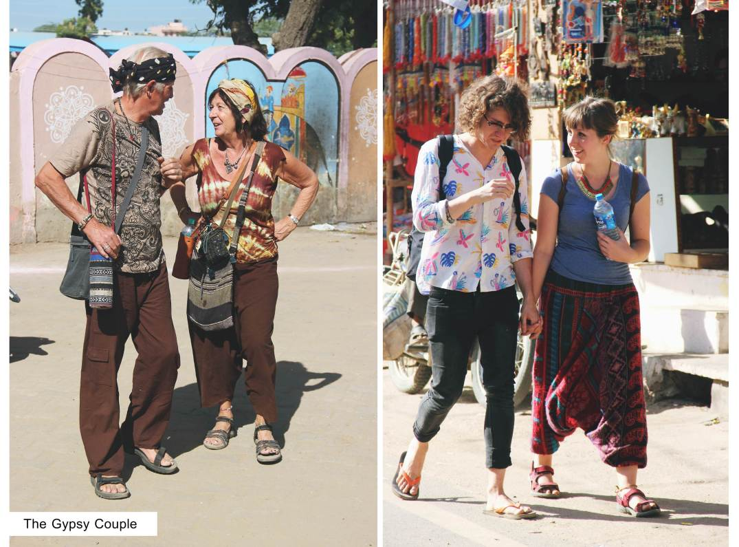 Gypsy Couple-street style india