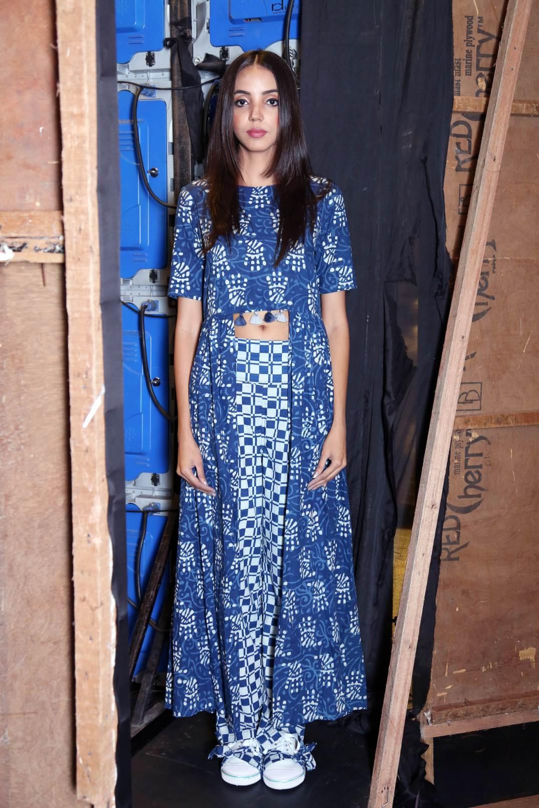 Geet Vaishankh mishra-iisw-jaipur fashion-indigo (3)